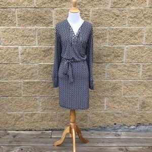 Michael Kors Black&White Chain detail Dress